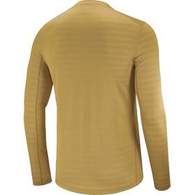 Salomon XA Camiseta Manga Larga Hombre, marrón